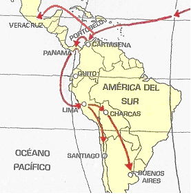 Colonial trade patterns